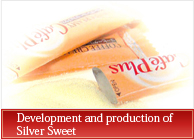 Development and production of Silver Sweet
